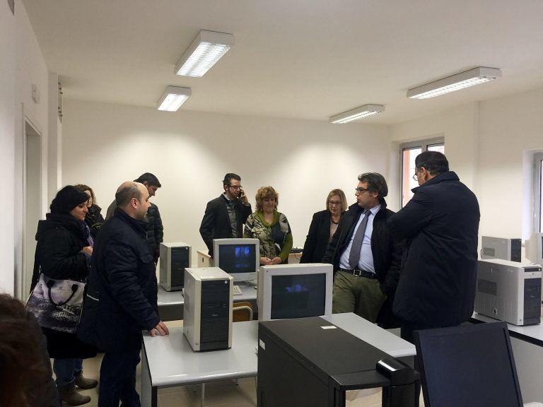 Pescara, inaugurata la nuova ala della scuola di via Rubicone