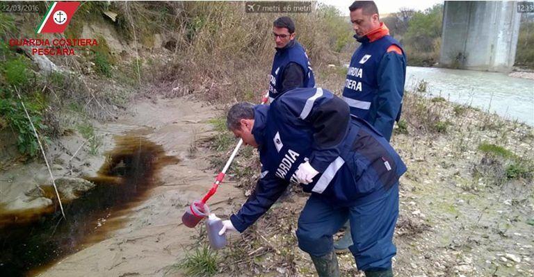 Montesilvano, discarica Villa Carmine: il sindaco vieta pesca e balneazione