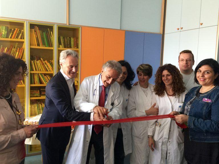 Pescara, ecco il laboratorio di ceramica per i piccoli pazienti di Oncoematologia