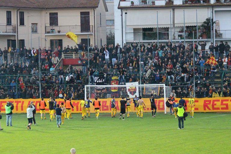 Giornata giallorossa per Giulianova-Sambenedettese