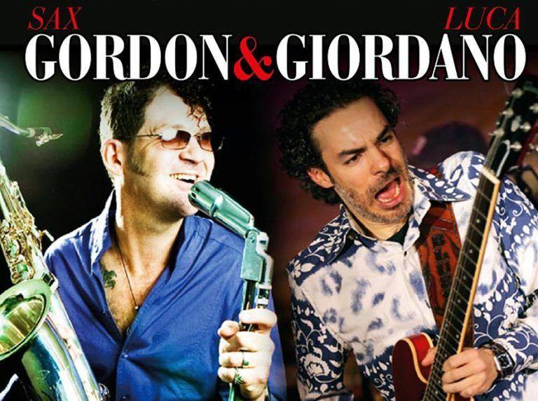 Sax Gordon e Luca Giordano al Frida Club di Tortoreto