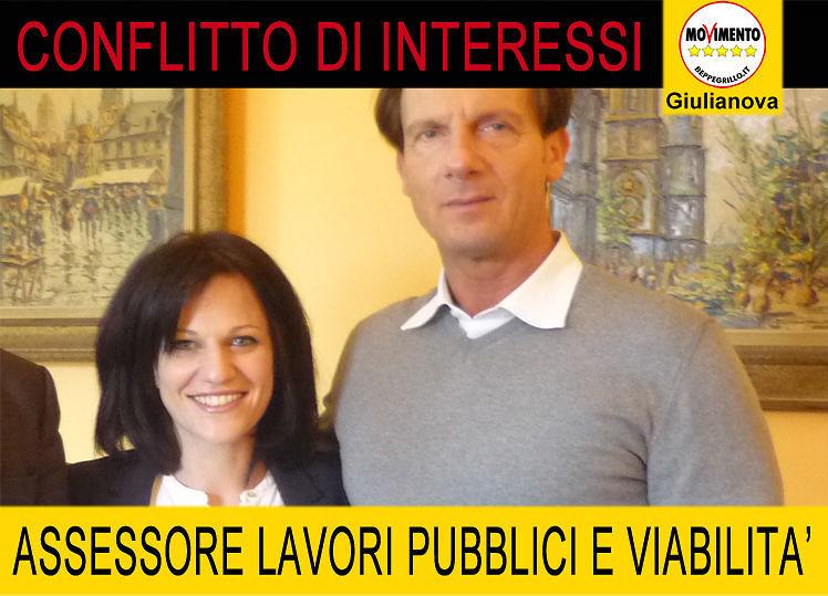 Giulianova, M5S denuncia: 'conflitto di interessi per l'assessore Guerrucci'