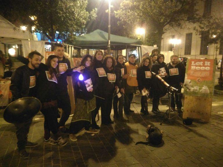 """Pescara, flash mob della Lav: """"Stop al massacro di agnelli e capretti"""""""