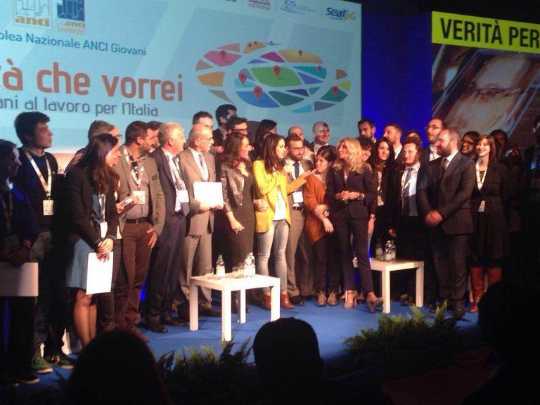 Pescara, Enrica Sabatini premiata da Anci Giovani