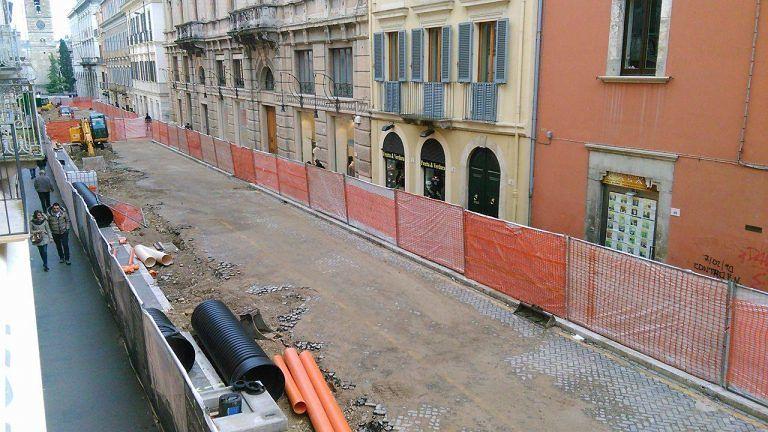 Teramo, riqualificazione di corso San Giorgio: cronoprogramma dei lavori