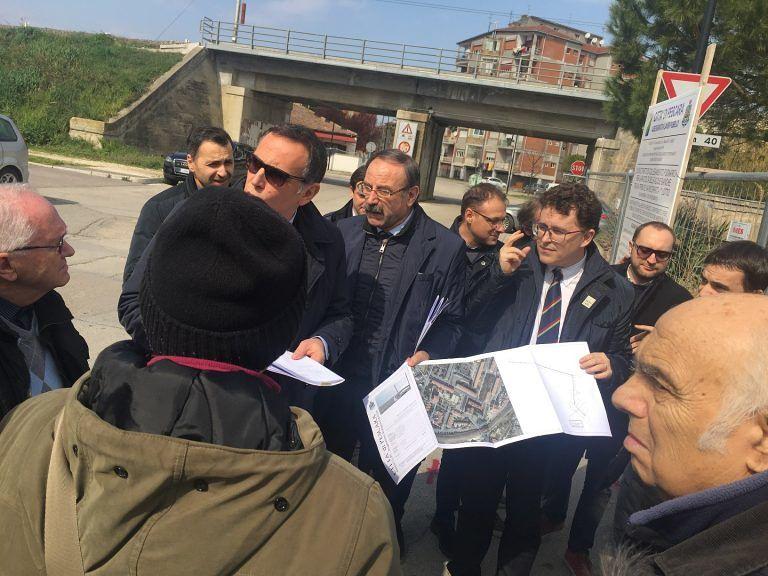 Pescara, anti-allagamenti: lavori in corso in tra San Donato e Fontanelle
