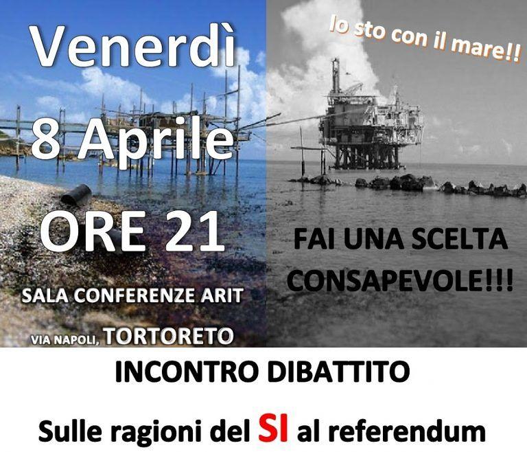 Tortoreto, referendum: dibattito con Beni Comuni e M5S