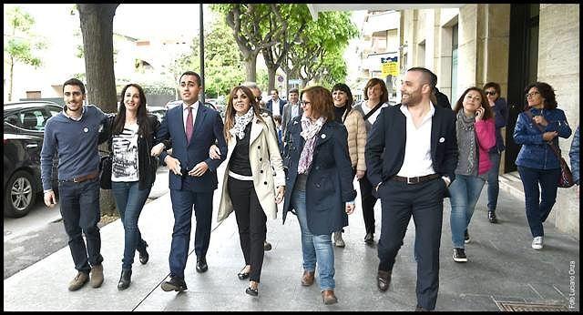 Elezioni Francavilla, Luigi Di Maio a sostegno della candidatura di Livio Sarchese VIDEO