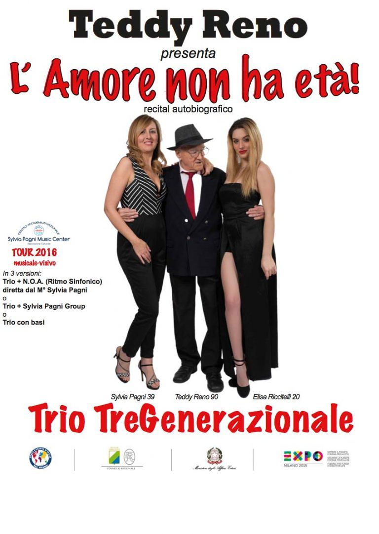 Sanremo, Teddy Reno e il Trio-Tregenerazionale ospiti a 'La Vita in Diretta' con il coro dei bambini di Scerne
