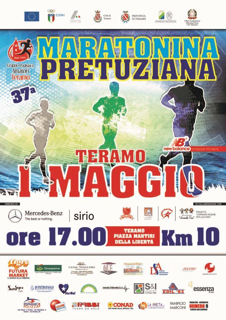 Teramo, torna la Maratonina Pretuziana
