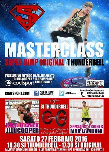 Speciale master class alla Palestra Dimensione Fitness, arriva Jill Cooper – Sabato 27 febbraio| Alba Adriatica