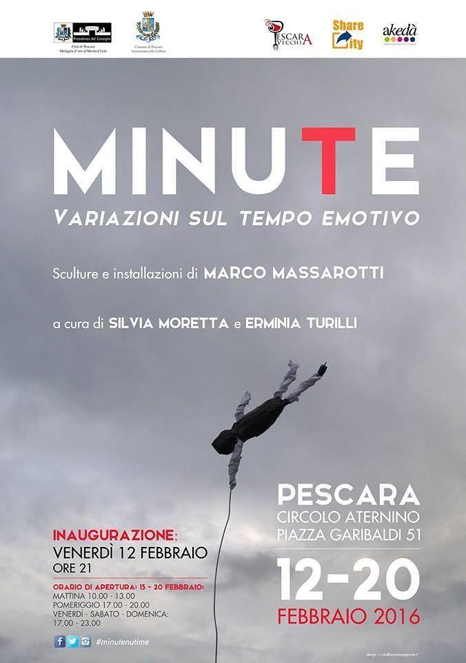 Pescara, al via la mostra 'Minute': 60 opere sul tempo