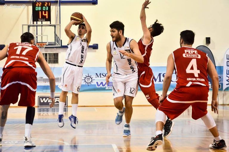 Basket, Ortona-Valmontone 84-70: adriatici in zona play-off