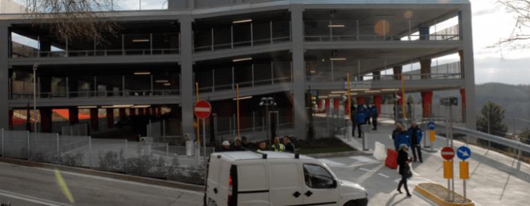 Teramo, parcheggio Mazzini riconsegnato alla Asl