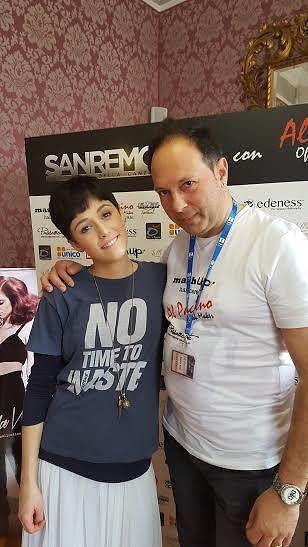 Paglieta, le mani di Erminio Zinni al Festival di Sanremo