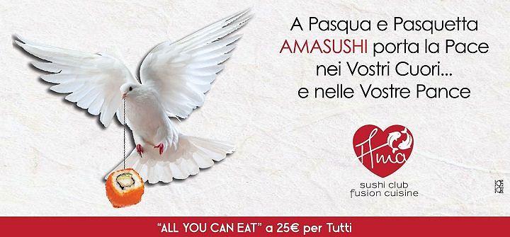 All You Can Eat speciale Pasqua da Ama Sushi Club   Giulianova
