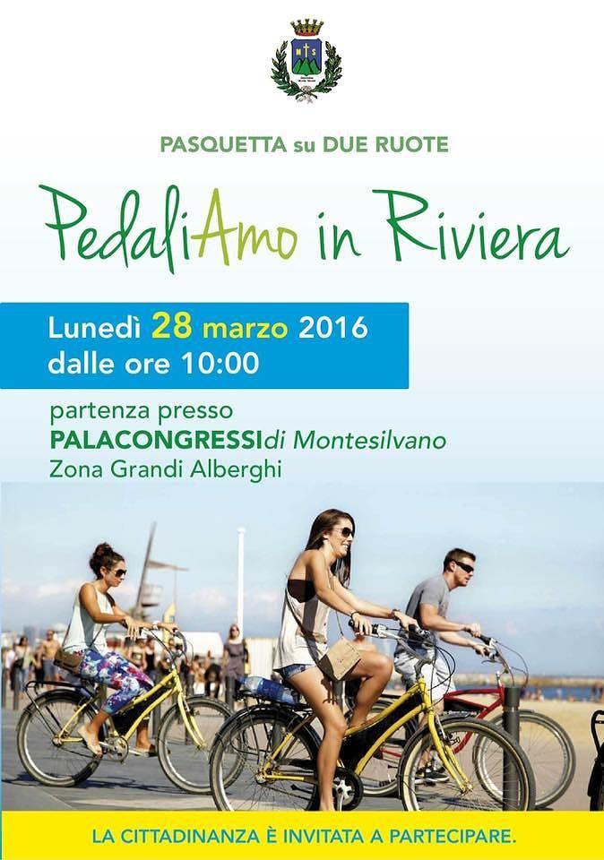 Montesilvano, al via la biciclettata in riviera per il lunedì di pasquetta