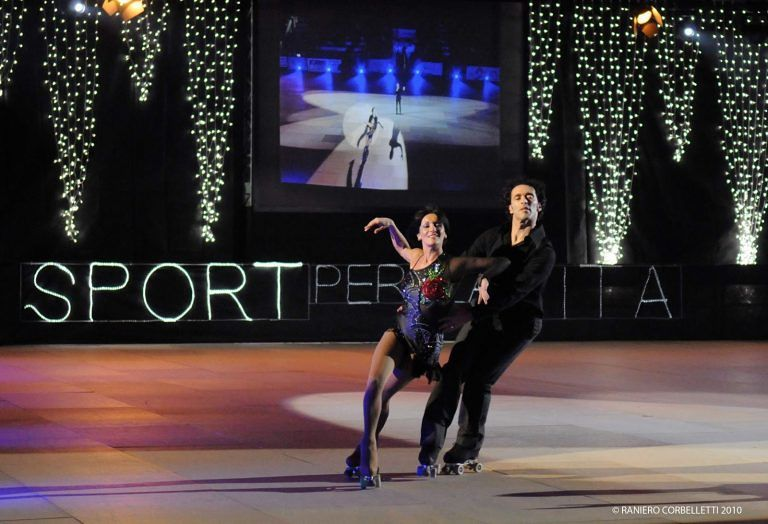 Roseto: Sport per la Vita con i campioni di pattinaggio mondiali, Debora Sbei e Alessandra Amoroso