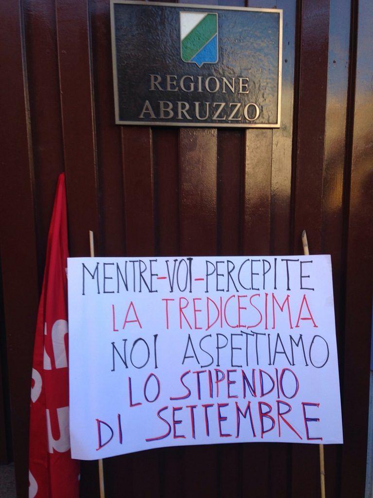 Azienda Maiella Morrone, Sospiri: 'Il 2016 dei dipendenti si apre nel peggiore dei modi'