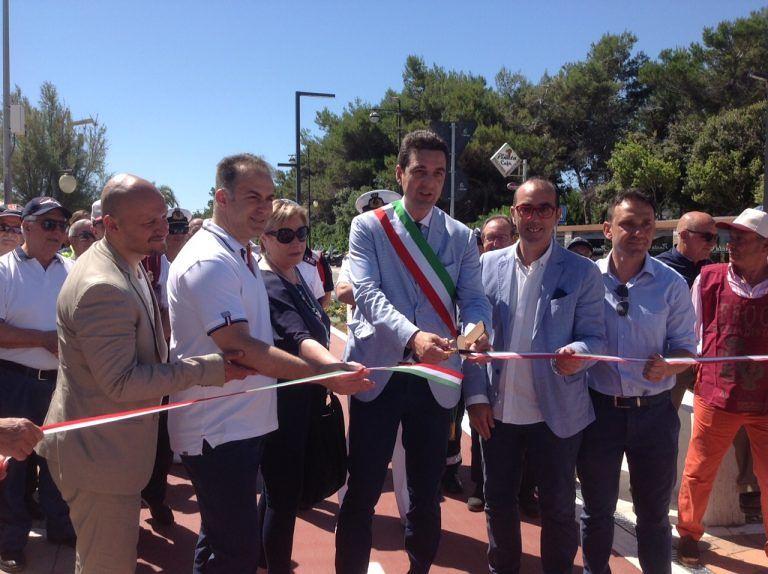Montesilvano, inaugurata la pista ciclopedonale di Bike to Coast