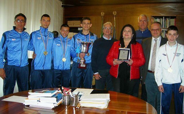 Chieti, premiati gli studenti vincitori delle gare nazionali di Corsa Campestre