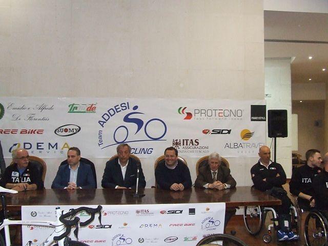 A Francavilla il raduno Nazionale Italiana di Ciclismo Paralimpico con Alex Zanardi