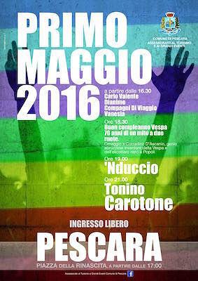Pescara, week end di eventi per il Primo Maggio