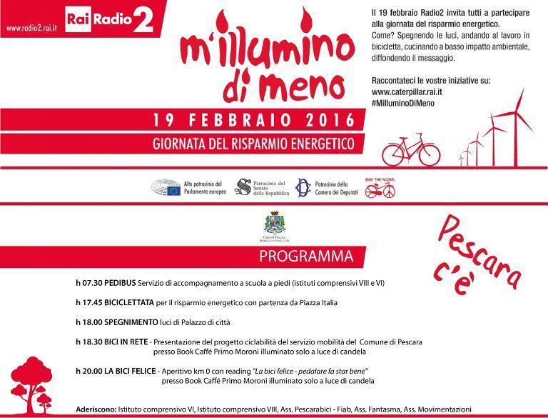 Pescara, a scuola in bici per la giornata della sostenibilità energetica