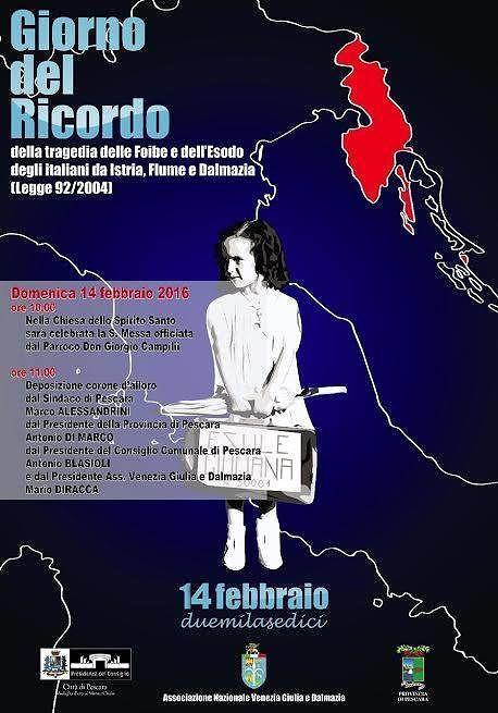 Pescara, il film di Cristicchi per raccontare le foibe: domani la proiezione