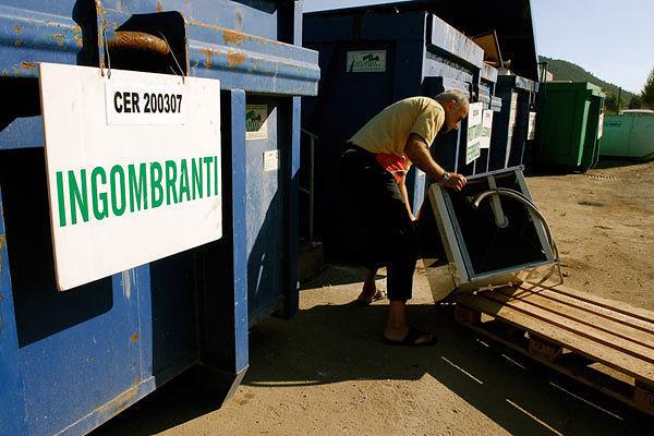 Spoltore, una giornata per conferire i rifiuti ingombranti