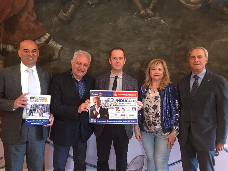 Pescara, spettacolo di beneficenza per 'End polio now'