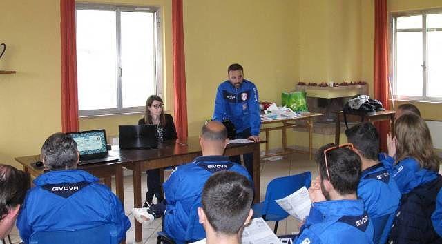 Settore Giovanile Sambuceto Calcio, incontro formativo sulla psicologia dello sport