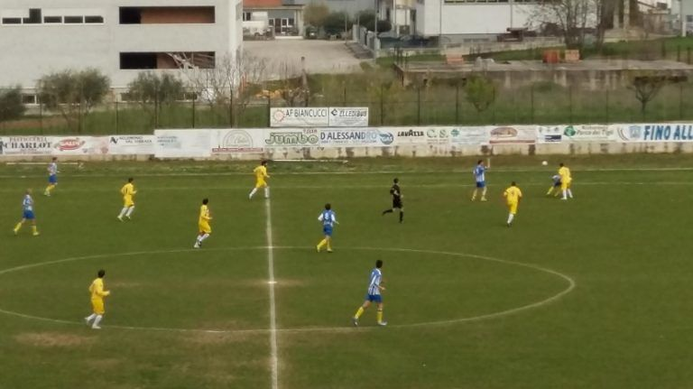 Promozione, Sant'Omero-Castellalto 1-0: decide Pezzoli. Finale teso