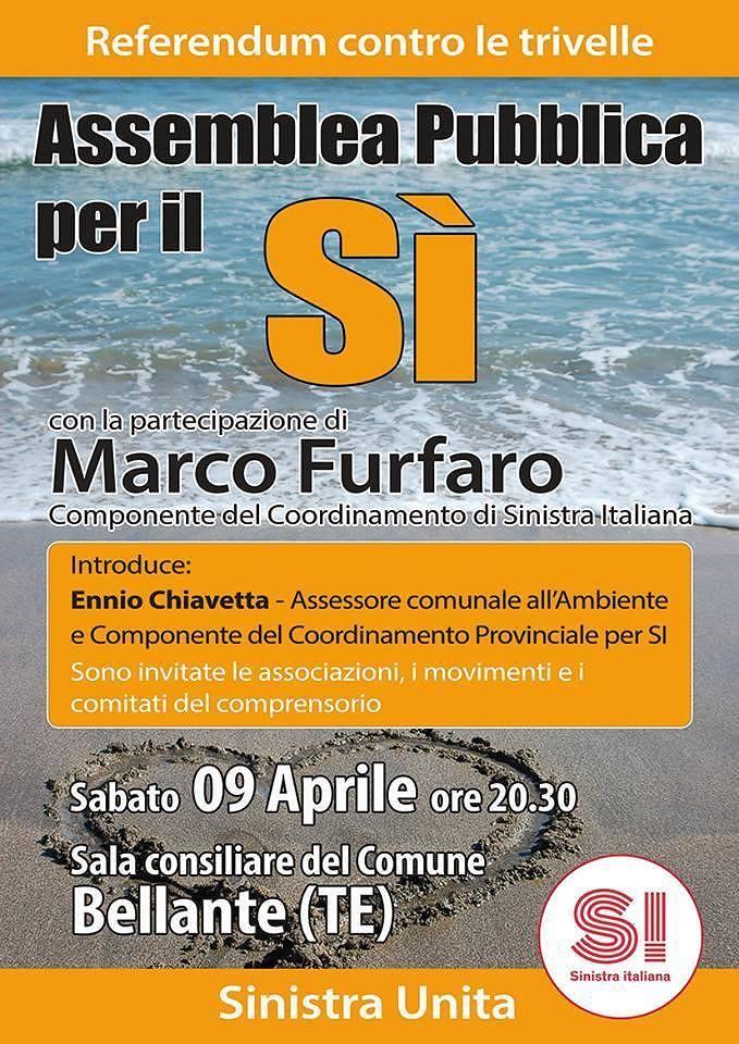 """Referendum trivelle, '1000 piazze, un mare di SI"""": gli eventi in Abruzzo"""