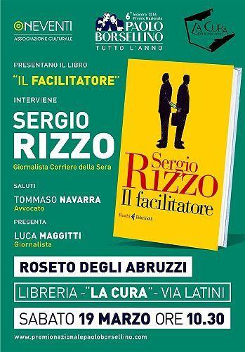 Sergio Rizzo, il coautore de 'La Casta', a Teramo e a Roseto
