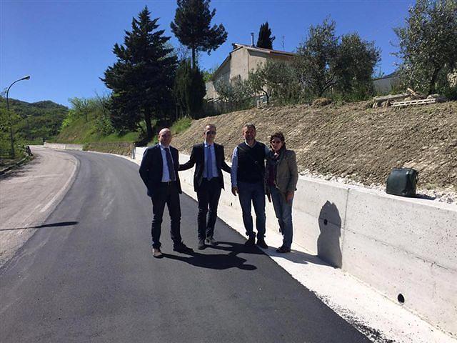 Castigione a Casauria, conclusi i lavori sulle strade provinciali
