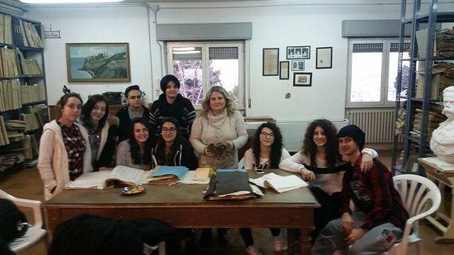 L'Archivio Storico del Comune di Chieti accoglie gli studenti del Liceo Gonzaga