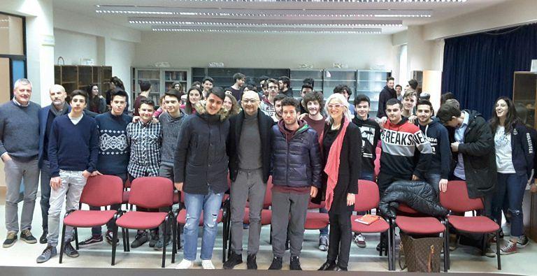 Giulianova, Gabriele Tarquini ospite del Liceo Curie