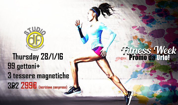 Fitness Week, una settimana di super sconti: SCOPRI l'offerta di giovedì 28 gennaio da Dimensione Fitness| Alba Adriatica