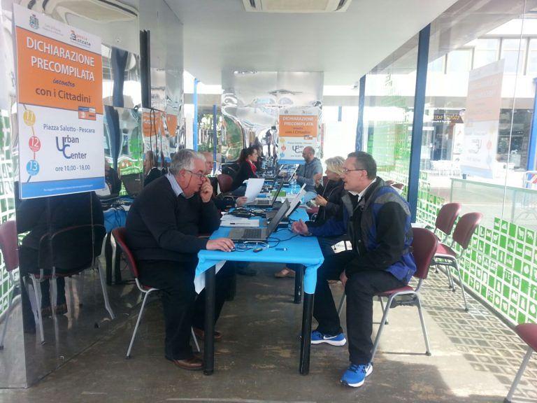 Pescara, assistenza fiscale ai cittadini: eseguite 80 pratiche