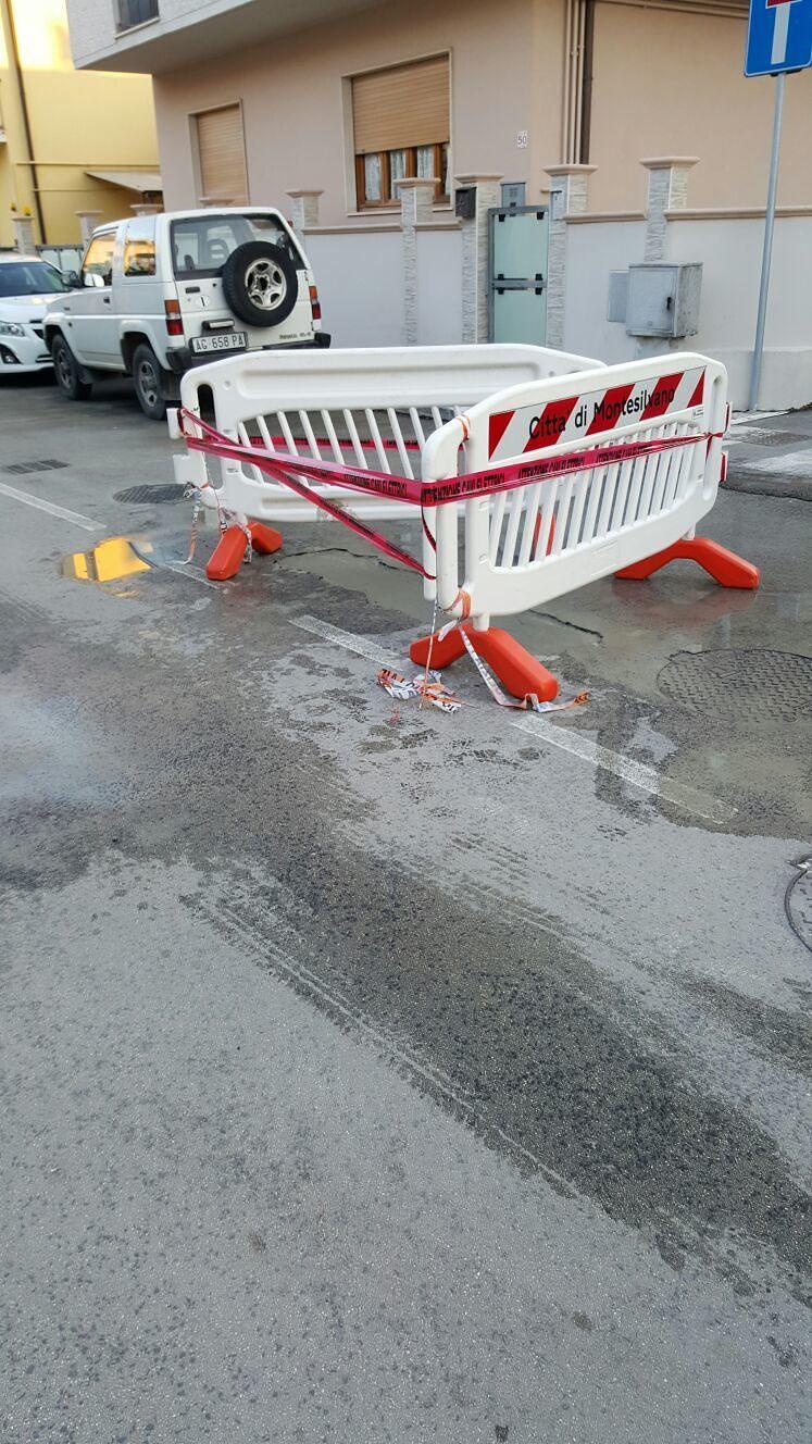 Montesilvano, riparato il manto stradale di via Chieti