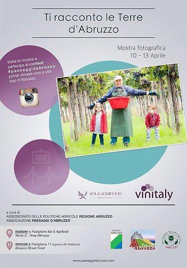 'Ti racconto le Terre d'Abruzzo', la mostra per promuovere la regione al Vinitaly