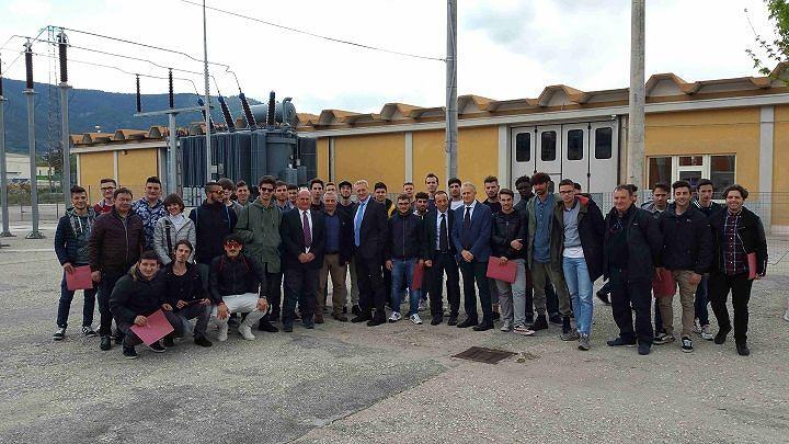 Roseto, ragazzi del 'Moretti' a lezione di energia e sicurezza