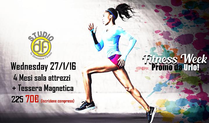 Fitness Week, una settimana di super sconti: SCOPRI l'offerta di mercoledì 27 gennaio da Dimensione Fitness| Alba Adriatica