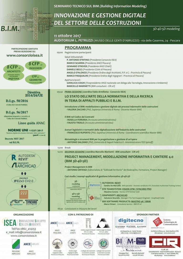 Pescara, edilizia e appalti: i nuovi sistemi di gestione digitale