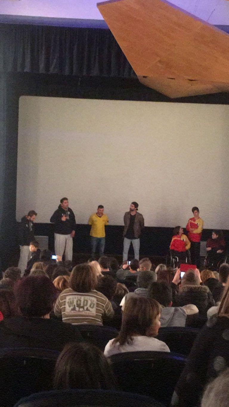 Giulianova, cinema gremito per l'evento del MiniBasket FOTO