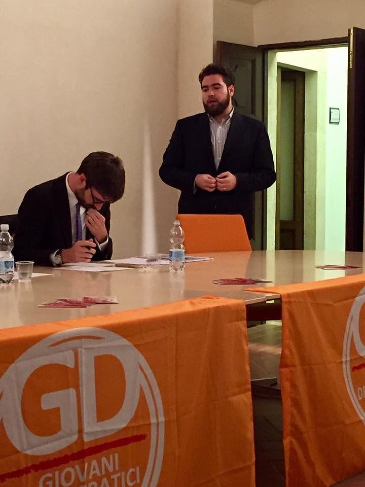 L'Aquila, Stefano Albano vicesegretario nazionale dei Giovani Democratici