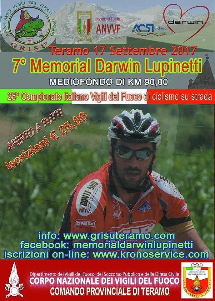 """Teramo, domenica il settimo Memorial """"Darwin Lupinetti"""""""