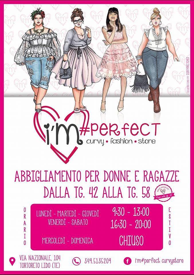 I'm perfect curvy Fashion Store: nuova collezione autunno/inverno| Tortoreto
