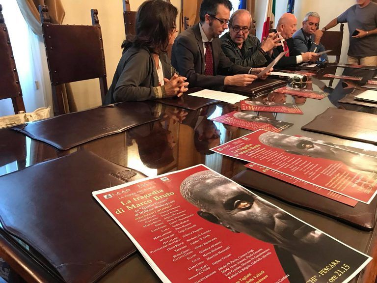 Pescara, Shakespeare a Villa Sabucchi con la 'Tragedia di Bruto'